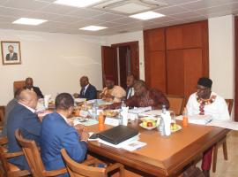 A Board meeting to approve an ambitious budget