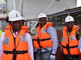 Visite initiatique sur les terminaux off-shore